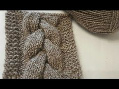 How to knit an easy cable. Knitting Videos, Knitting Stitches, Braid Patterns, Stitch Patterns, Stitch Braids, Granny Square Blanket, Knit Jacket, Diy And Crafts, Elsa