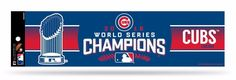 Chicago Cubs World Series Champions Bumper Sticker NEW!! 3 x 11 Inches