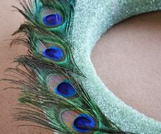 How to Make a Peacock Wreath | eHow