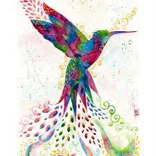 Resultado de imagen para pinturas de colibries al oleo