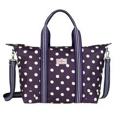 Button Spot Foldaway Overnight Bag | Cath Kidston |