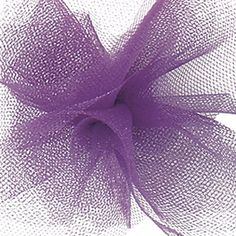 Tulle netting - BIG economical spools 6 inch wide (# x 100 yards spool. This tulle is specially designed to be just the right texture. Tulle Rolls, Special Events, Wedding Decorations, Delicate, Bows, Shapes, Purple, Stylish, Unique