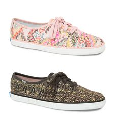 Our new Keds X @Janet Russell-Snider Eagle Outfitters shoes are positively patterned! Which color is more you? http://www.ae.com/web/browse/product.jsp?productId=7412_7752_900  #KedsStyle