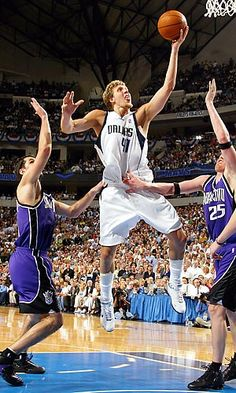Dirk Nowitzki ~ he is the MAN! eat it Miami and Laker fans!