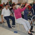 150 abuelos se divierten en el CIIC