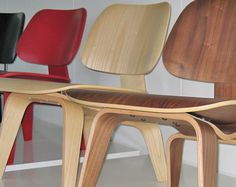 Eames Plywood Chair in honor of the movie, Eames: The Architect and the Painter