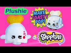 DIY Shopkins Season 2 Toasty POP Plushie TOY Craft Make & Do It Your Self How To Video Cookieswirlc - YouTube