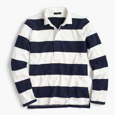 Women's The 1984 Rugby Shirt In Stripe - Women's Knits | J.Crew