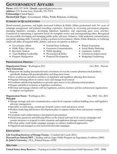 Sample Government Resume Targeted Resume Format  Work  Pinterest  Resume Format And