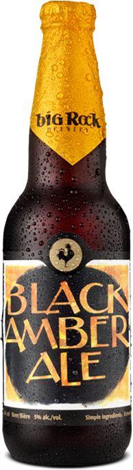 Black Amber Ale | Big Rock Beer  #craftbeer #beer