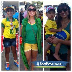 Looks #FanFestNatal :D