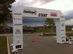 Amazing starting line signage done by Speedpro Imaging London Ontario!  Speedpro London was one of the sponsors and supplied all signage and printed materials!  Well done!