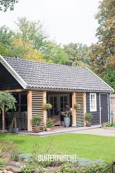 backyard shed ideas Shed Design, Tiny House Design, Lounge Design, Backyard Sheds, Backyard Patio, Outdoor Rooms, Outdoor Living, Garden Buildings, Exterior Design