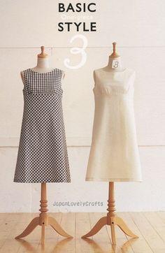 Pattern by Yoshiko Tsukiori. Love Japanese fashion? Learn to sew Japanese sewing patterns at www.japanesesewingpatterns.com