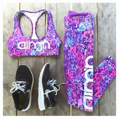 AIM'N SPORTSWEAR // Tropic Bra & Tights // aimn.co.nz