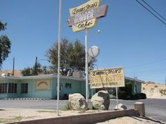 Emma Jean's Holland Burger Cafe on historical Route 66 in Victorville Ca. Great food and friendly staff.