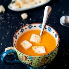 Simple and Delicious Tomato Soup... a must for every kitchen.