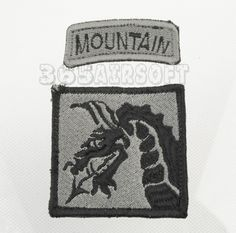 US Force Mountain Patch