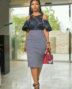 Charming and Lovely Ankara Short Gown Styles 2019 - Mode Africaine - African Fashion Ankara, Latest African Fashion Dresses, African Print Dresses, African Print Fashion, African Dress, Ankara Short Gown Styles, Ankara Styles For Women, Short Gowns, Short Styles