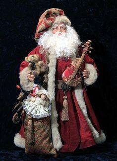 Originals - Old World St. Nicks | Handmade original and reproduction Santa Dolls & Christmas Decor