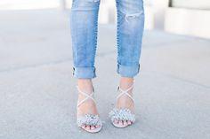 fringe sandals and d