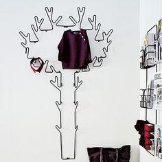 Tree Coat Rack - Black | Maze Interior