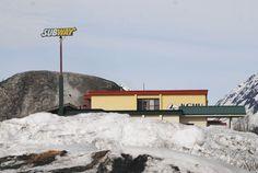 #Subway bajo cero en #Valdez, #Alaska.