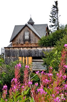 Old house on the Kenai Highway