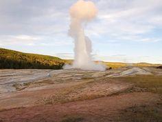 Old Faithful geyser, Yellowstone N.P.