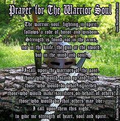 Prayer for The Warrior Soul
