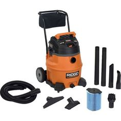 Ridgid 31693 Wd1851 16 Gallon 6.5 Hp Wet/Dry Vacuum With Cart, 2015 Amazon Top Rated Vacuums #HomeImprovement