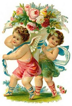 Cards Scrapbooking and Art: Vintage Angel & fairies (17)