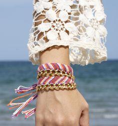Carnival Friendship Bracelet