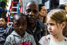#StreetPortraitOfAfatherAndHisSon #2colePopincourt #Paris75011 © Camille Gabarra
