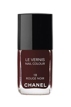 Chanel Rouge Noir (aka Vamp) my fave winter color , so glam