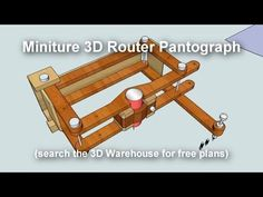pantograph that can be used with dremel with or ratios… Used Woodworking Tools, Router Woodworking, Wood Tools, Woodworking Workshop, Diy Tools, Woodworking Projects, Woodworking Furniture, Furniture Plans, Kids Furniture