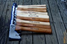Personalized Axe - Engraved Hatchet -  -Firefighter Gift-