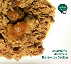 Amo la carne cotta e stracotta e la adoro tutta sfilacciata e saporita! Eccone una versione con le cipolline....buonissimooo!!!!!!  http://blog.giallozafferano.it/ledomatrici/brasato-con-cipolline/ #ledomatricidifornelli #ricette #brasato #cipolline #blog #foodblog #giallozafferano #gialloblogs #bloggz #ilovecooking #secondo #carne #instafood #instalike