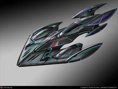Another spaceship concept, , RomKochnev - CGSociety Space Ship Concept Art, Concept Ships, Concept Cars, Alien Spaceship, Spaceship Design, Alien Ship, Concept Art Gallery, Starship Concept, Predator Alien