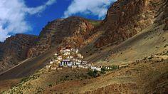 One of the many Tibetan Buddhist monasteries in Spiti (Credit: Credit: Neelima Vallangi)
