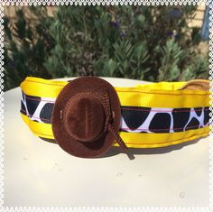 Woody Toy Story running headband 1.5 inches wide non slip by ChickyBands on Etsy https://www.etsy.com/listing/222274485/woody-toy-story-running-headband-15