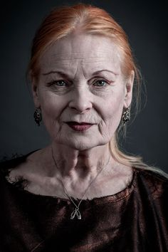Vivienne Westwood  Photographed by Andy Gotts