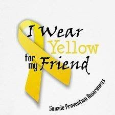 Suicide Prevention months are August and September- Suicide Prevention Month http://www.thirdsectorawareness.com/yellow.html