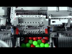 Lego Technic ● Mindstorms ● Ball sorting machine - YouTube