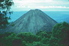 Izalco Volcano from Cerro Verde National Park in El Salvador