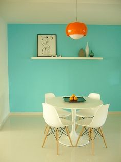 Feature wall colour