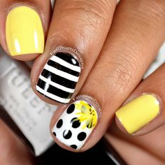 Would you try Black and White with Yellow by Fatimah A? Vote on Preen.Me!