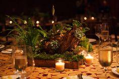 Succulent Centerpieces Ritz Carlton Reynolds Plantation WM Events William Fogler Corporate Event Designer