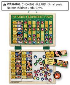 Melissa and Doug Kids Toys, Kids Responsibility Chart Set