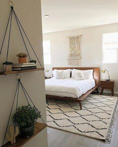 49 Minimalist Bedroom Design a few ideas for Simple your Home Room few ideas Decoration Inspiration, Decor Ideas, Decorating Ideas, Decoration Pictures, Decorating Websites, Diy Ideas, My New Room, Home Decor Bedroom, Bedroom Curtains